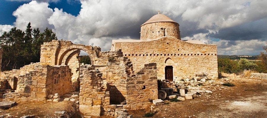 Church of Timiou Stavrou (Holy Cross) - Anogyra