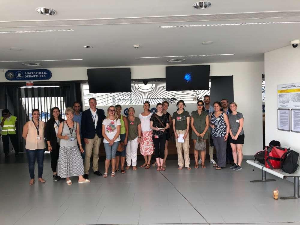 DP World Limassol hosts cruise executives