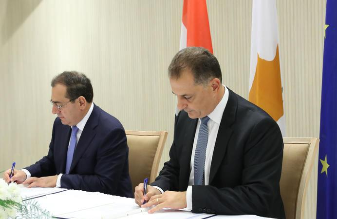 CNA: Cyprus and Egypt sign IGA on natural gas subsea pipeline (video)