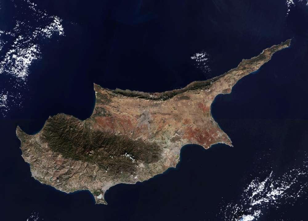 European Space Agency posts image of Cyprus