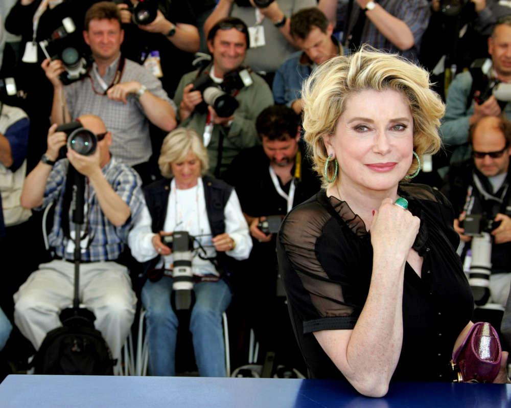 French film star Deneuve hospitalised after a stroke