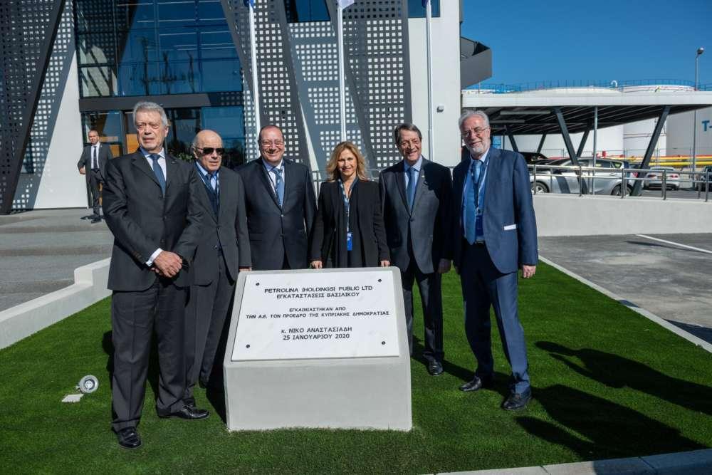President inagurates Petrolina's state-of-the-art terminal at Vassiliko