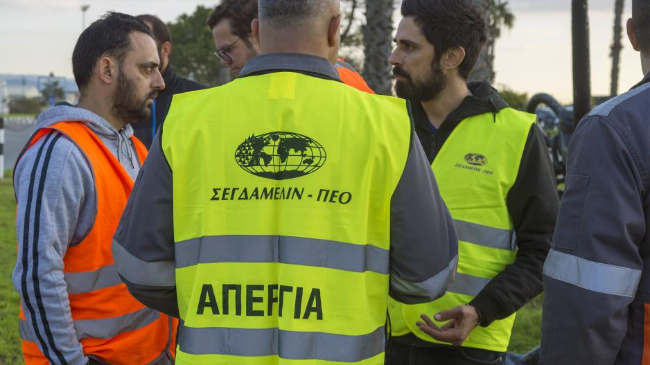 PEO dockers to lift strike measures at Limassol port