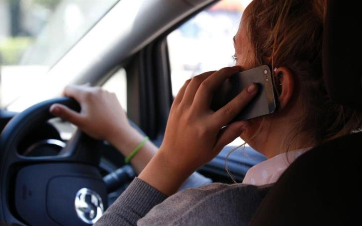 651 people caught driving without hands on the wheel in 7 days