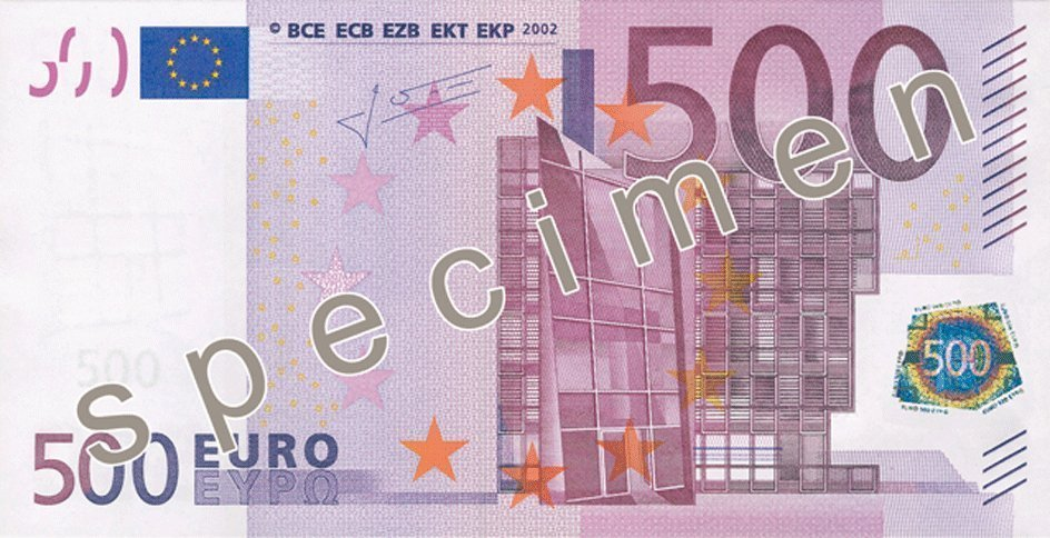 Central Bank: Issue of €500 banknote to stop