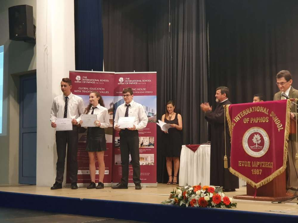 Academic Excellence Awards by ISOP