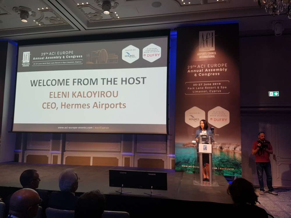 International aviation industry turns its attention to Cyprus