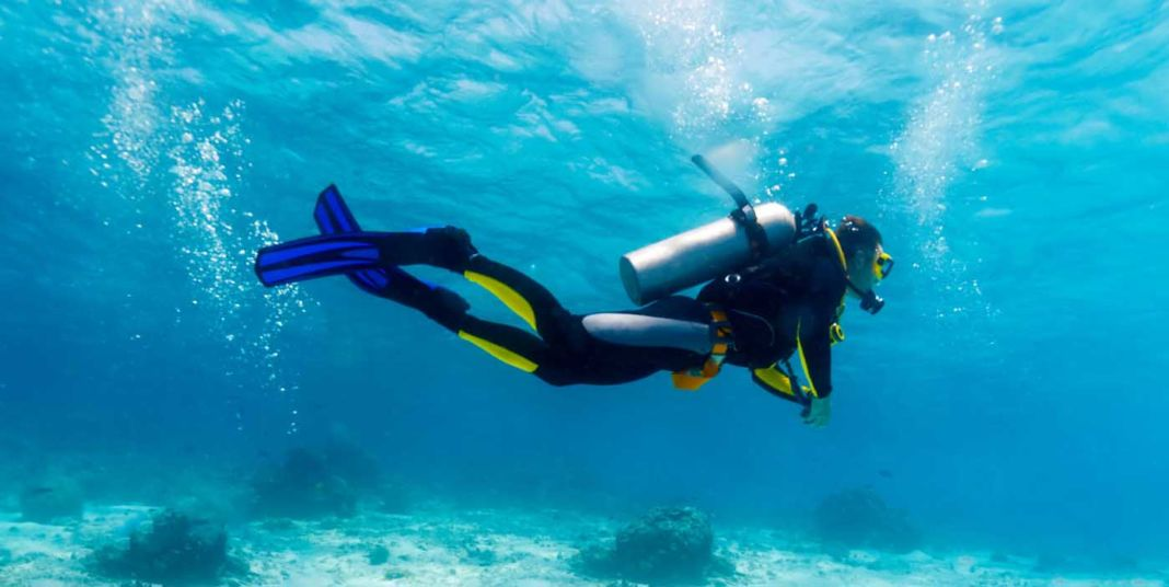 Enjoy scuba diving 365 days a year