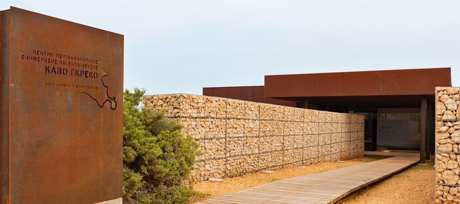 Environmental Information and Education Centre at Cape Greko