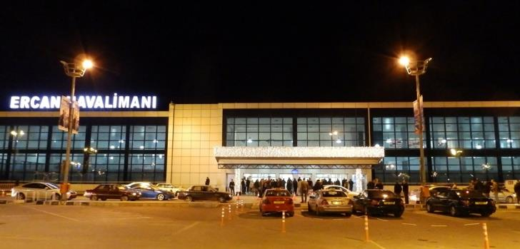 Occupied Tymbou airport serves between 70-100 flights per day