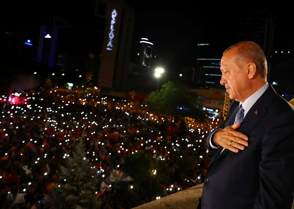 Erdogan wins sweeping new powers after election victory