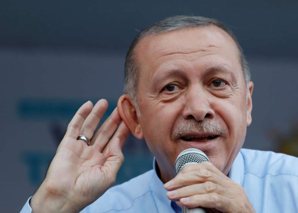 Turkey will stand its ground faced with U.S. sanctions -media