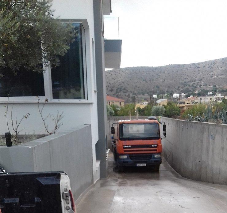 Hailstorm in Larnaca
