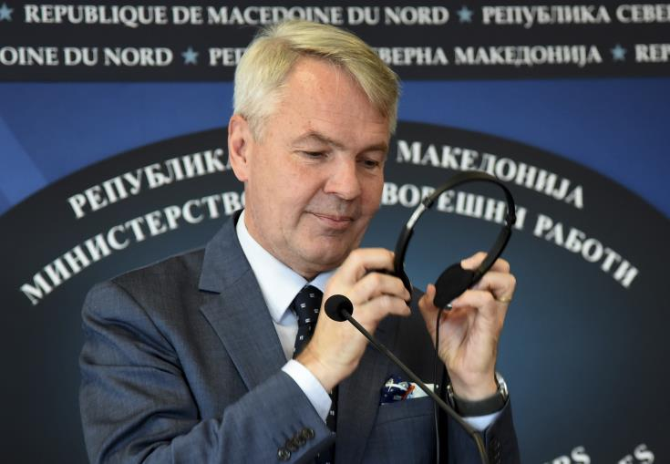 Finnish FM says hopes Berlin tripartite meeting revitalises settlement process