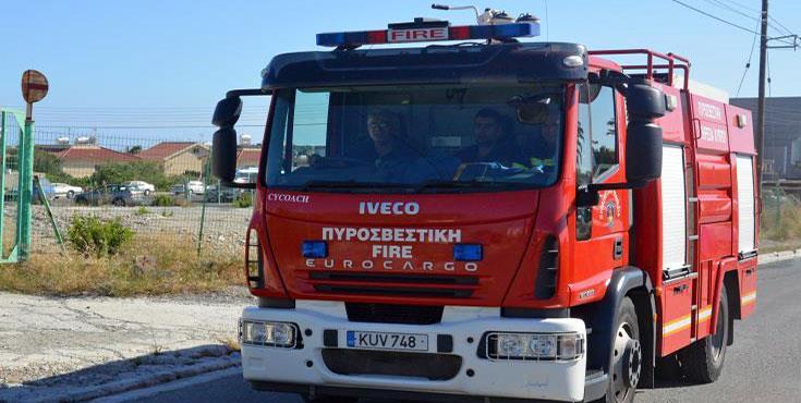 Polemi fire 'malicious' police