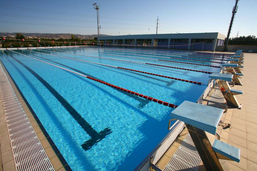 Geroskipou Olympic pool to welcome 180 swimmers in February