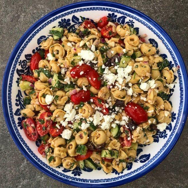 Greek Tortellini Salad