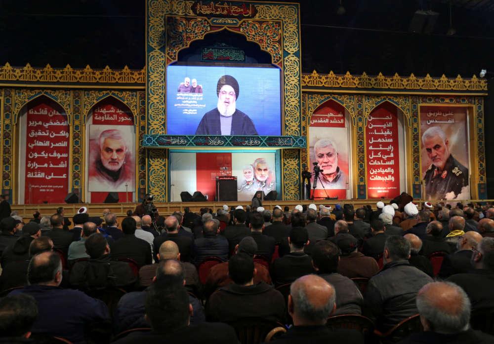 Hezbollah leader says he warned Soleimani of assassination threat