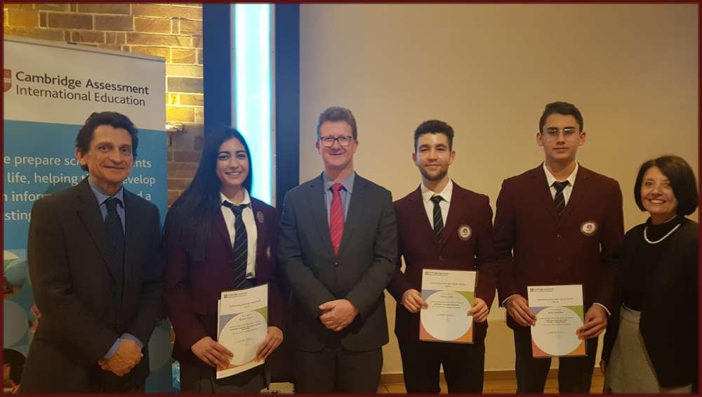 ISOP students excel at Cambridge International Awards