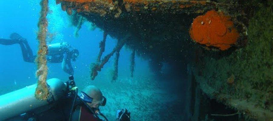 HMS Cricket Diving Site