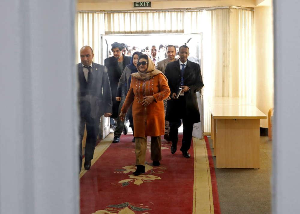 Afghanistan's Ghani wins slim majority of presidential vote in preliminary results