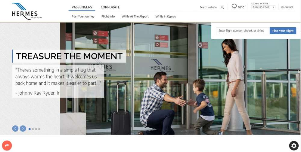 Hermes Airports launches its new website