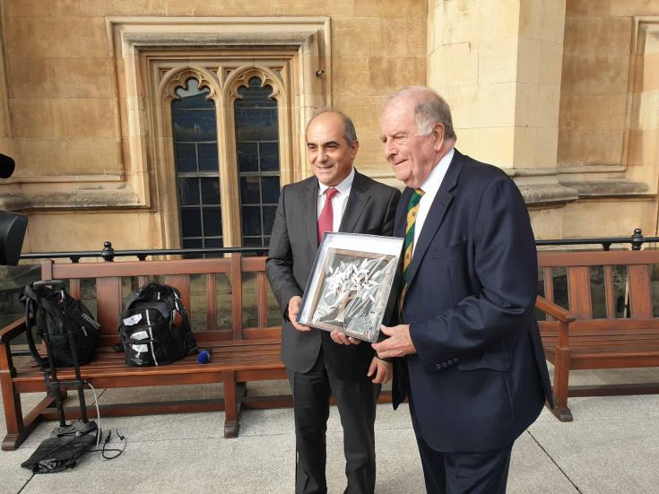 House President concludes first day of working visit to the UK