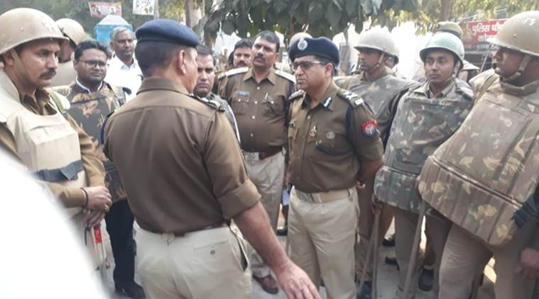 Policeman and one other dead after violence over cow slaughter in north India