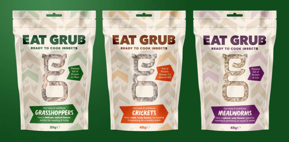 Edible insects hit supermarket shelves in UK first