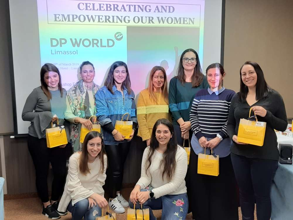 DP World Limassol workshop to empower women in the workplace