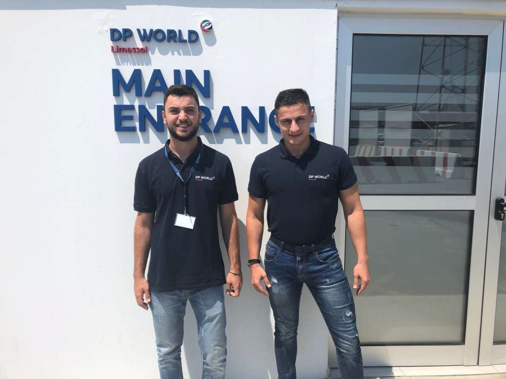 Internship for shipping students at DP World Limassol