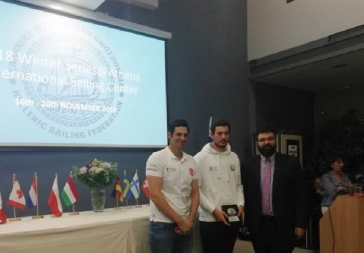 Cypriot sailor gives boat to Turkish athlete to help him win medal