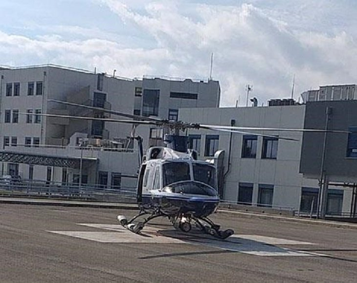 JRCC helicopter transfers ill ship crew member to hospital (pictures+video)
