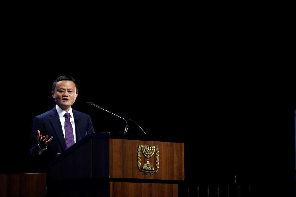 Alibaba's chief calls U.S.-China trade war