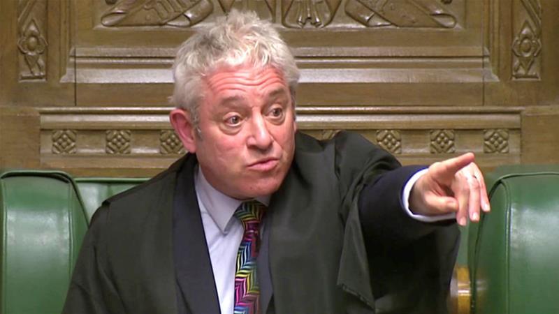 UK parliament's speaker promises