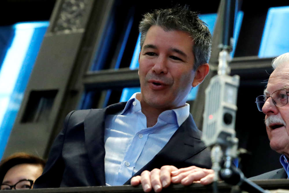 Uber co-founder Kalanick leaves board of directors