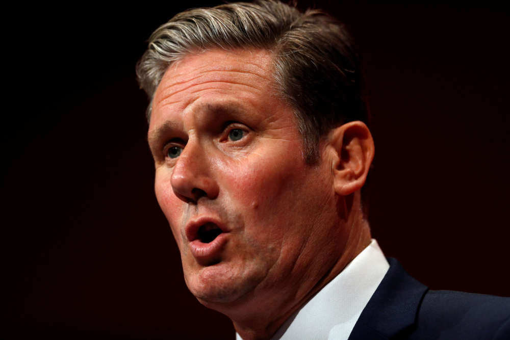 Starmer launches bid for leadership of UK's Labour Party