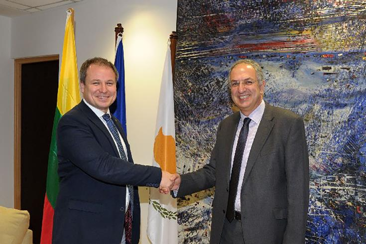 Agriculture Ministers of Cyprus and Lithuania discuss CAP