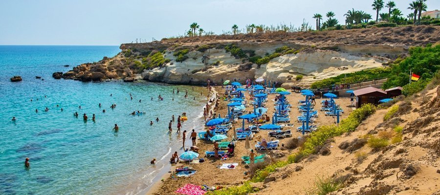 Half of Cyprus is now on vacation