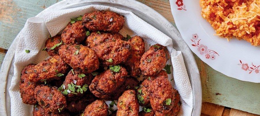 Keftedes (greek meat balls)