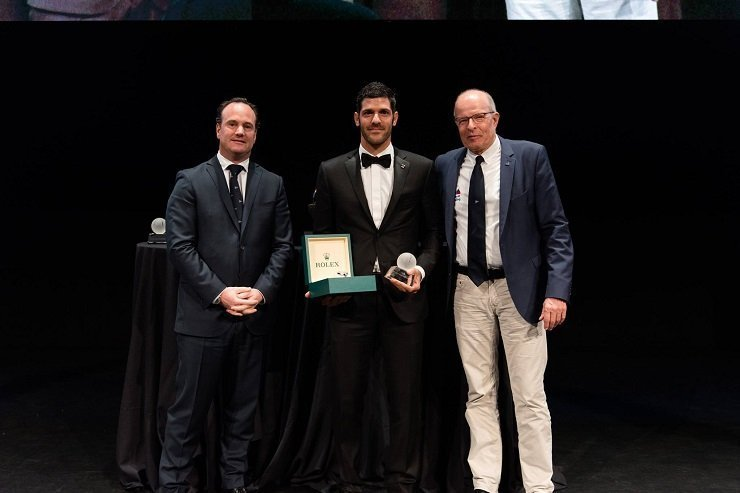Pavlos Kontides named World Sailor of the Year (video)