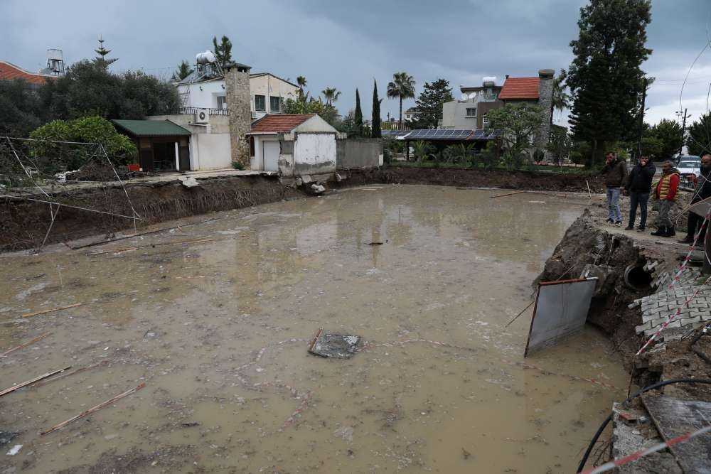 Turkish Cypriots assess damages after last week's floods (video)