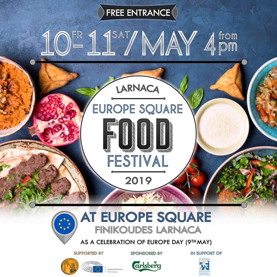 Larnaca ''Europe Square Food Festival'' 2019