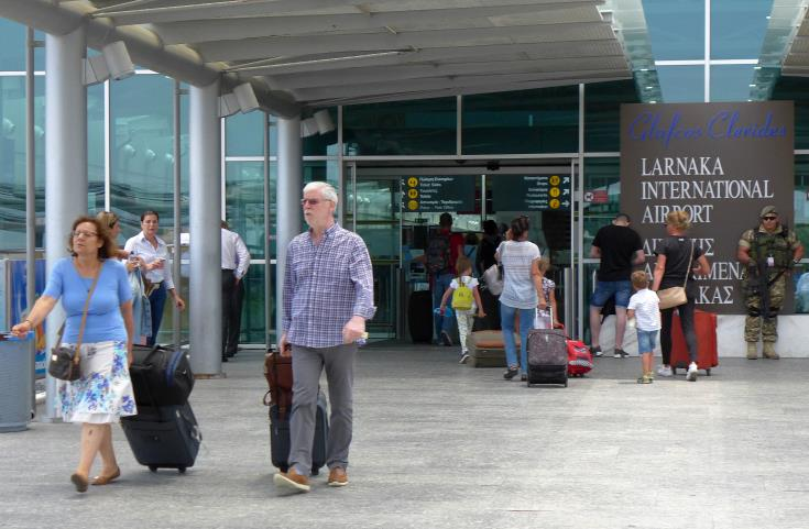 Tourist arrivals from the U.K. increase