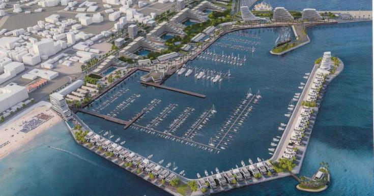 Cypriot-Israeli consortium presents redevelopment of Larnaca port and marina