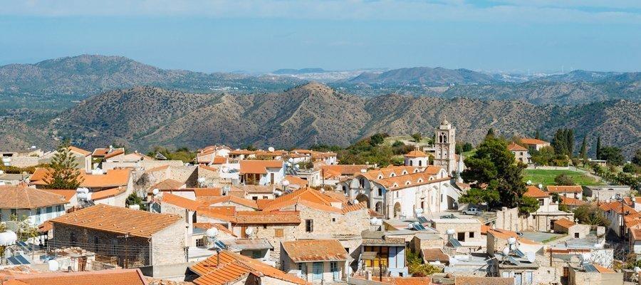 Larnaka 6 - Mazotos - Vavatsinia - Kofinou Cycling Route