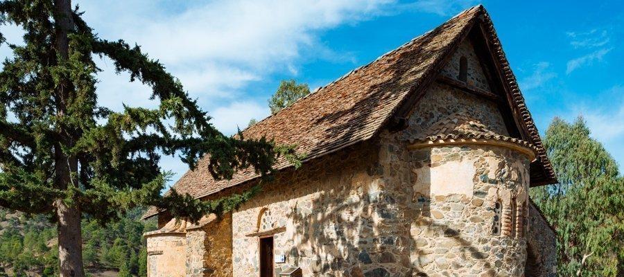 Lefkosia 3 - Lefkosia (Nicosia) - Aderfoi Forest - Asinou Cycling Route