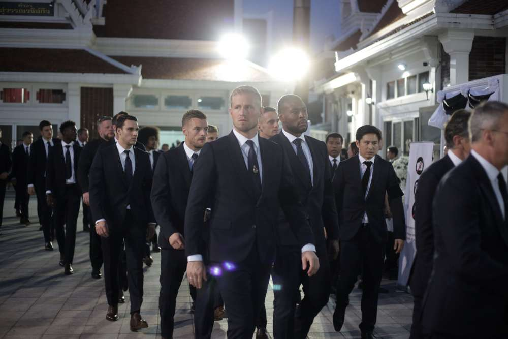 Leicester City players attended funeral of late owner in Thailand