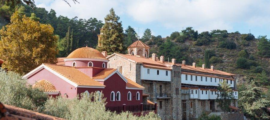 Lekfosia 1 - Lefkosia (Nicosia) - Machairas - Lythrodontas - Lefkosia Cycling Route