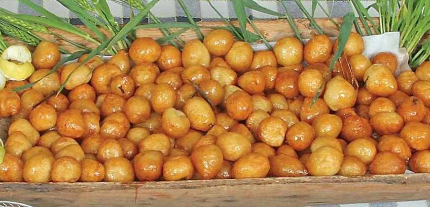 Potato loukoumades